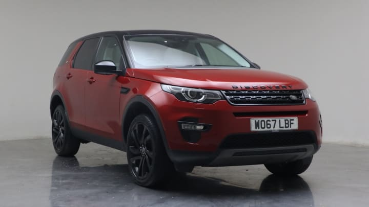 2018 Used Land Rover Discovery Sport 2L HSE Black TD4