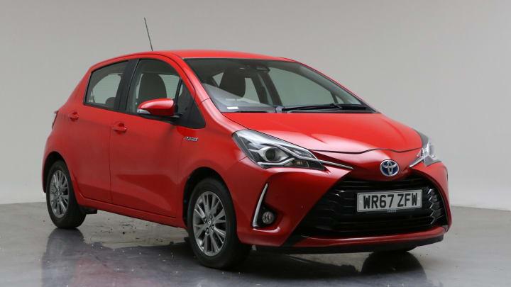 2017 Used Toyota Yaris 1.5L Icon Tech VVT-h