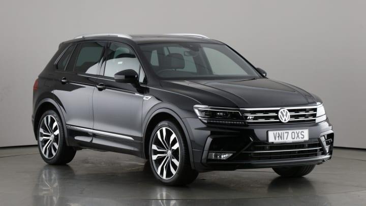 2017 used Volkswagen Tiguan 2L R-Line BlueMotion Tech TDI