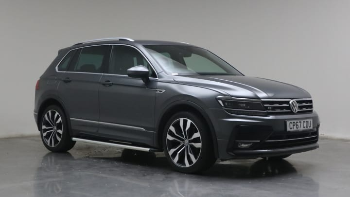 2017 used Volkswagen Tiguan 2L R-Line TDI