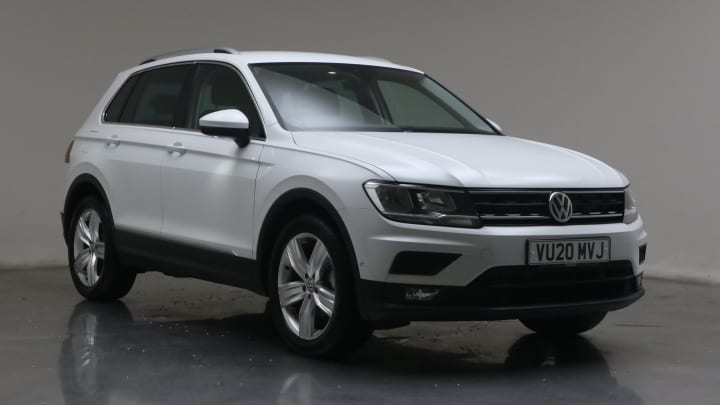 2020 used Volkswagen Tiguan 1.5L Match TSI EVO