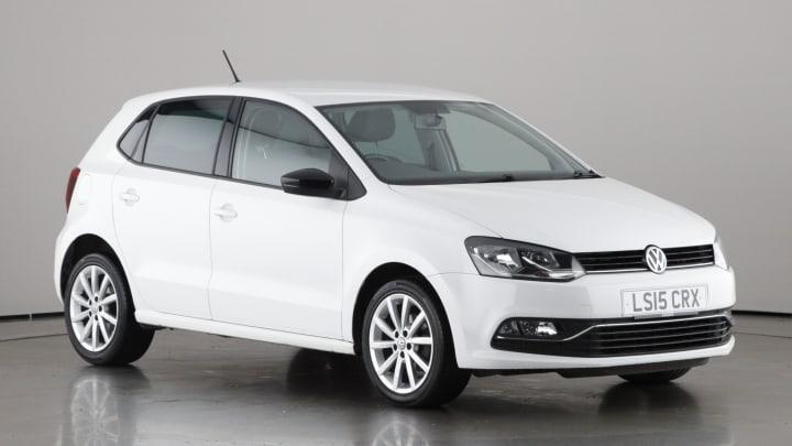 2015 used Volkswagen Polo 1.2L SE Design BlueMotion Tech TSI