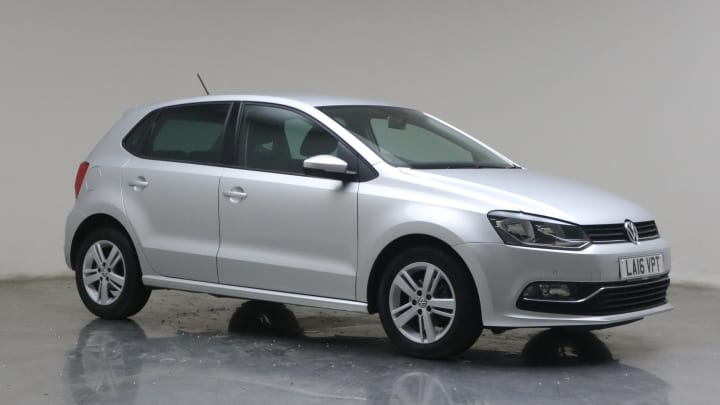 2016 used Volkswagen Polo 1.2L Match BlueMotion Tech TSI