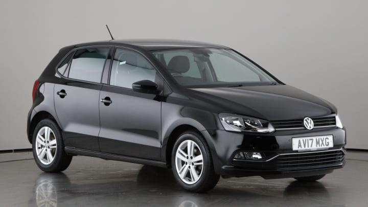 2017 used Volkswagen Polo 1L Match Edition