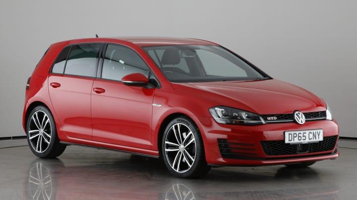 2015 used Volkswagen Golf 2L GTD BlueMotion Tech TDI