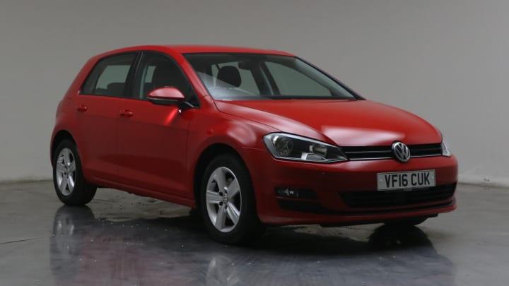 2016 used Volkswagen Golf 1.6L Match Edition BlueMotion Tech TDI