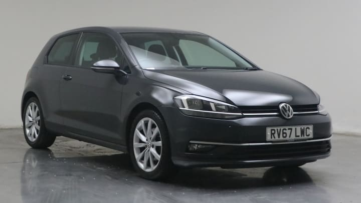 2017 used Volkswagen Golf 2L GT BlueMotion Tech TDI