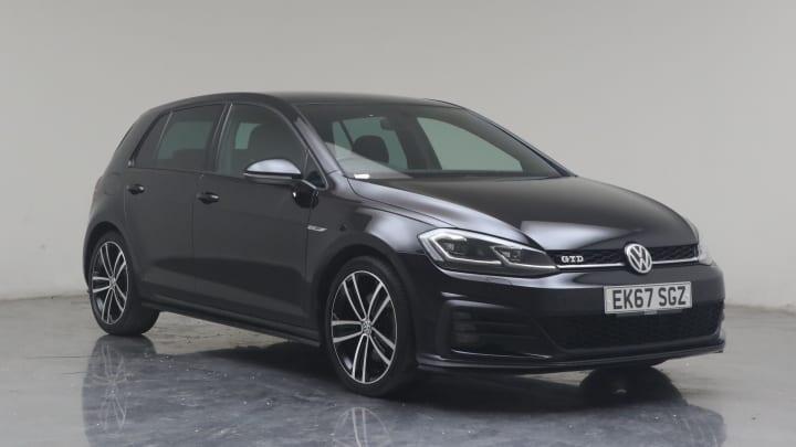 2018 used Volkswagen Golf 2L GTD BlueMotion Tech TDI