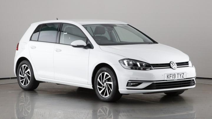 2019 used Volkswagen Golf 1.5L Match TSI EVO