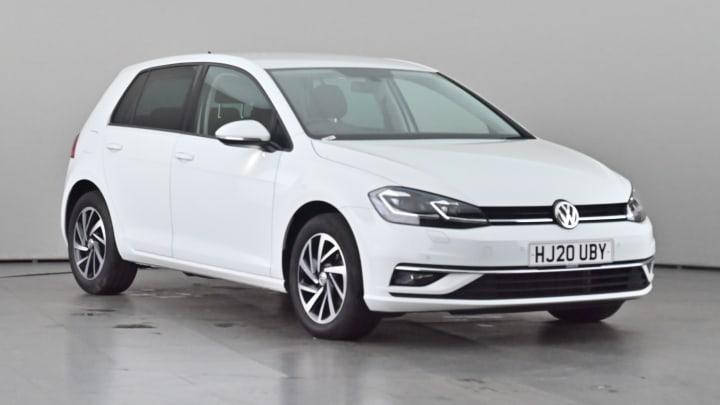 2020 subscription Volkswagen Golf 1.6L Match Edition TDI