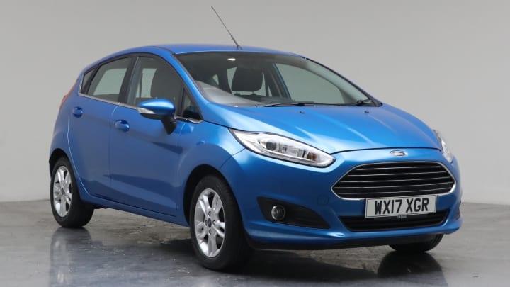 2017 Used Ford Fiesta 1.2L Zetec
