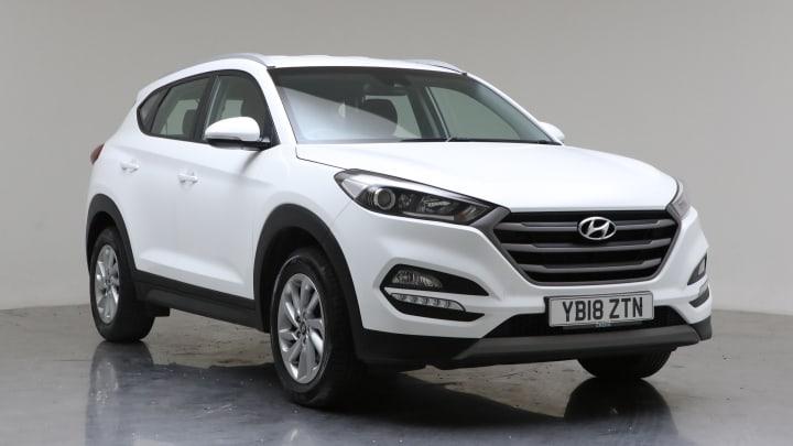 2018 Used Hyundai Tucson 1.7L Sport Edition Blue Drive CRDi