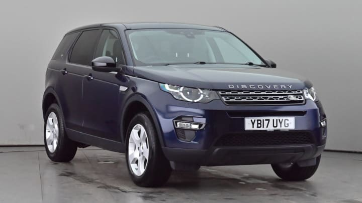 2017 Used Land Rover Discovery Sport 2L Pure Edition TD4