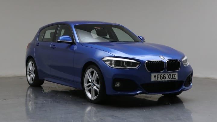 2016 Used BMW 1 Series 1.5L M Sport 116d
