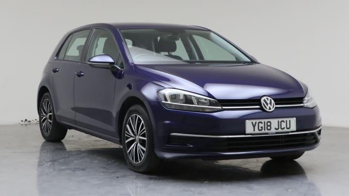 2018 Used Volkswagen Golf 1.4L SE Nav TSI