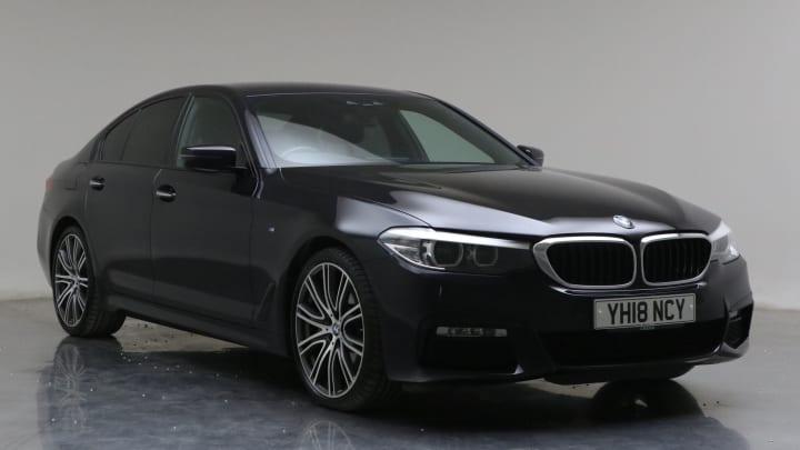 2018 Used BMW 5 Series 3L M Sport 530d