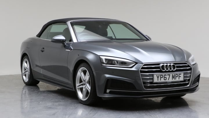 2017 Used Audi A5 Cabriolet 2L S line TFSI