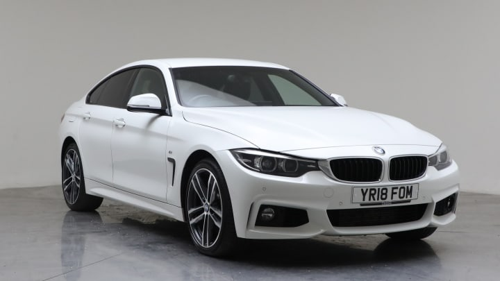 2018 used BMW 4 Series Gran Coupe 3L M Sport 435d