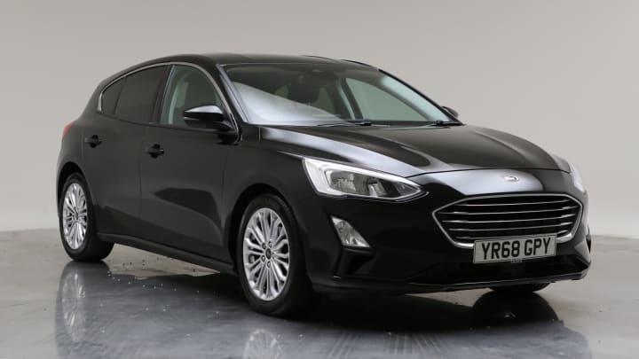 2018 Used Ford Focus 1.5L Titanium X EcoBlue