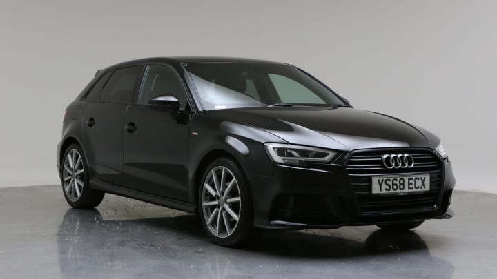 2018 Used Audi A3 1.5L Black Edition CoD TFSI