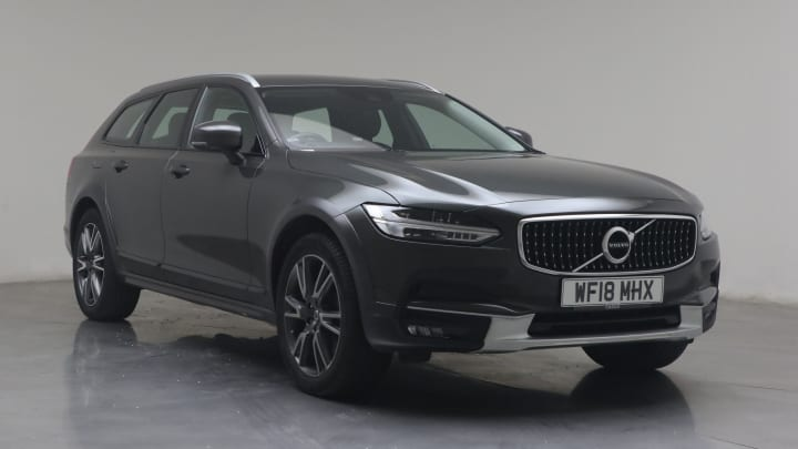 2018 used Volvo V90 Cross Country 2L Pro D4