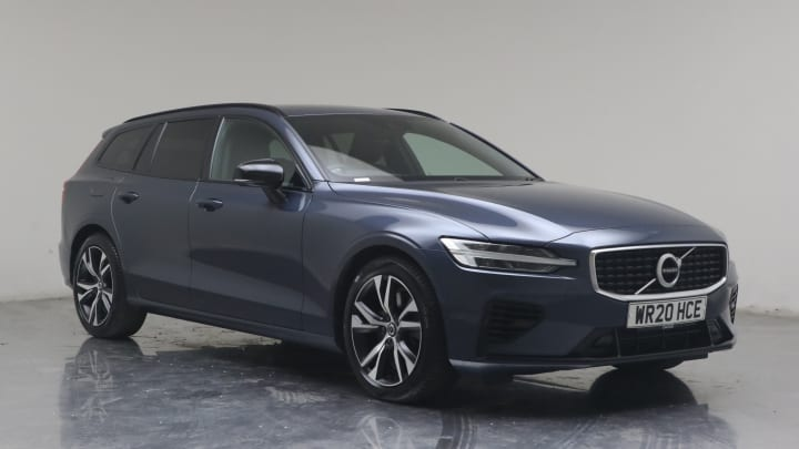 2020 used Volvo V60 2L R-Design Plus Twin Engine h T8