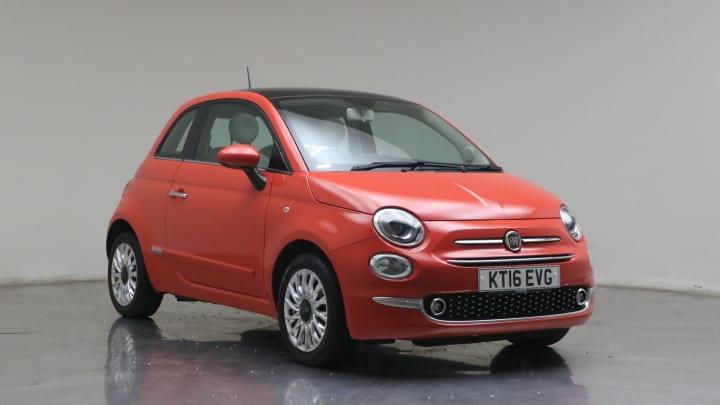 2016 used Fiat 500 1.2L Lounge 8V