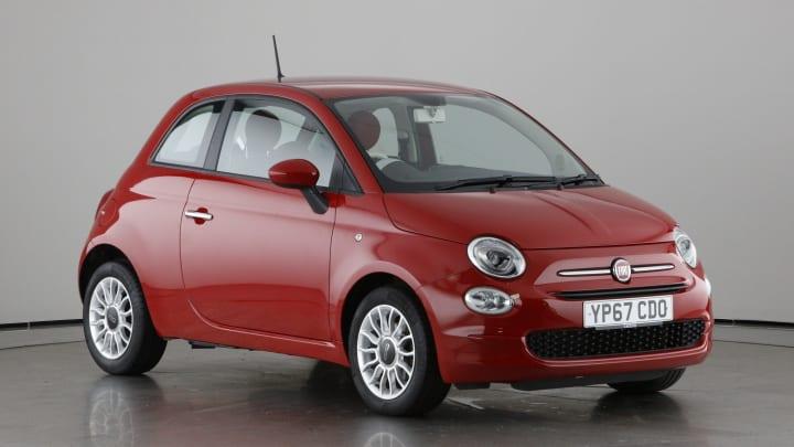 2017 used Fiat 500 1.2L Pop Star 8V