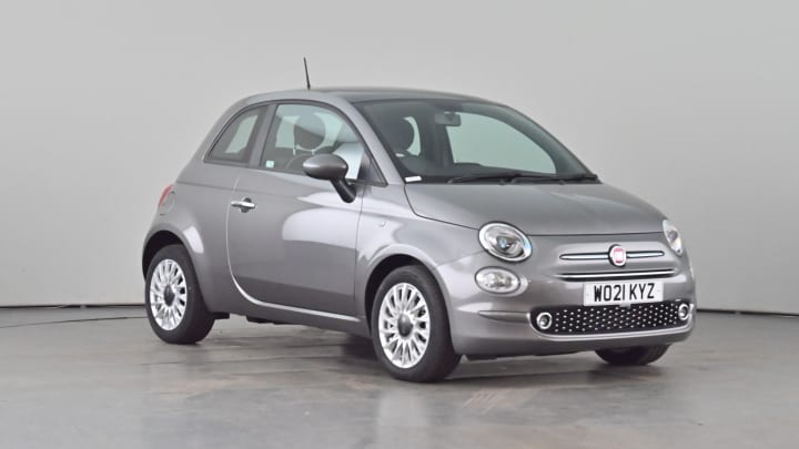 2021 subscription Fiat 500 1L Lounge MHEV
