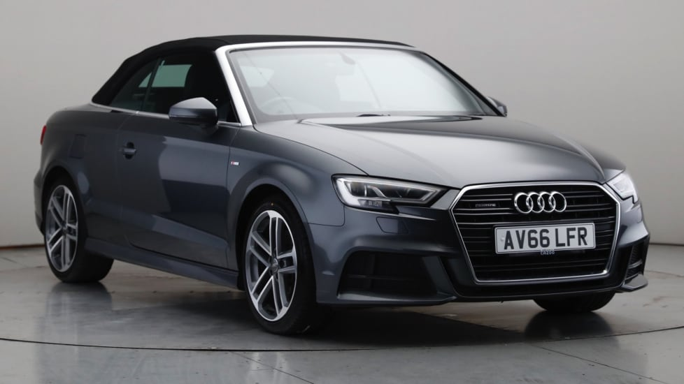 2016 Used Audi A3 Cabriolet 2L S line TFSI