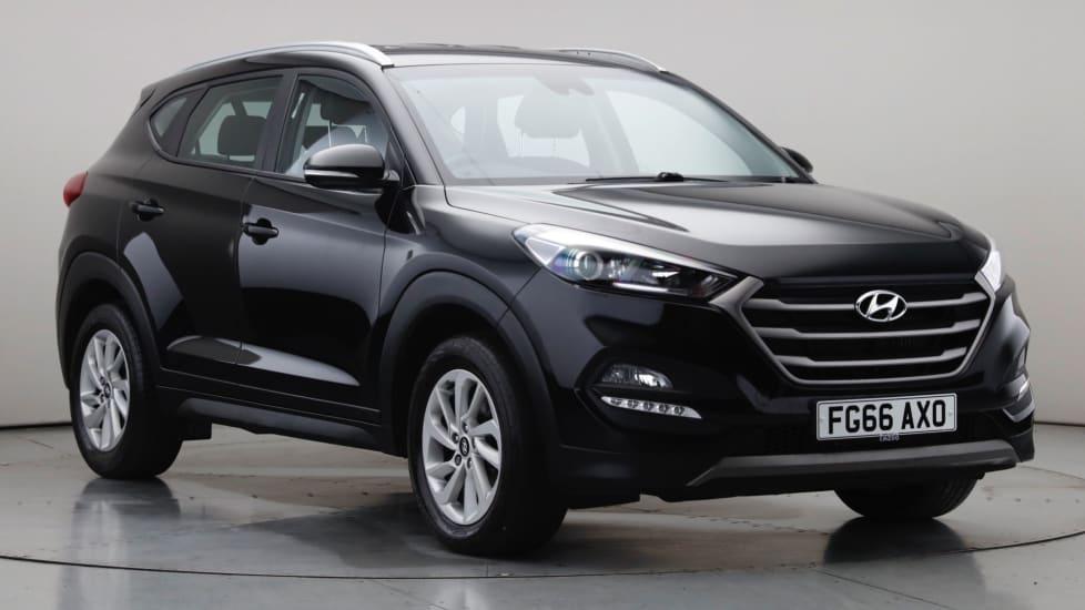 2016 Used Hyundai Tucson 1.7L SE Nav Blue Drive CRDi