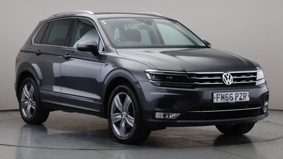 2017 Used Volkswagen Tiguan 2L SEL BlueMotion Tech TDI