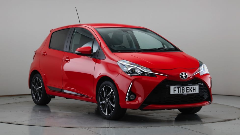 2018 Used Toyota Yaris 1.5L Design VVT-i
