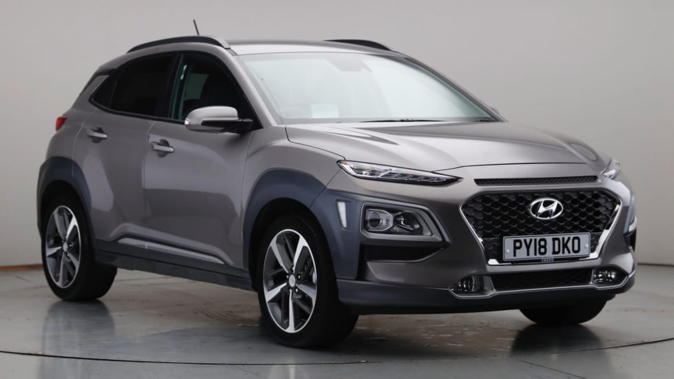2018 Used Hyundai Kona 1L Premium SE Blue Drive T-GDi