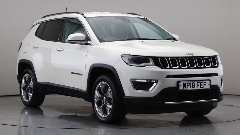 2018 Used Jeep Compass 1.6L Limited MultiJetII