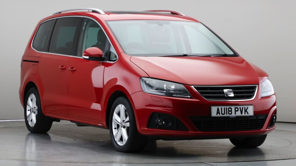 2018 Used Seat Alhambra 2L XCELLENCE TDI