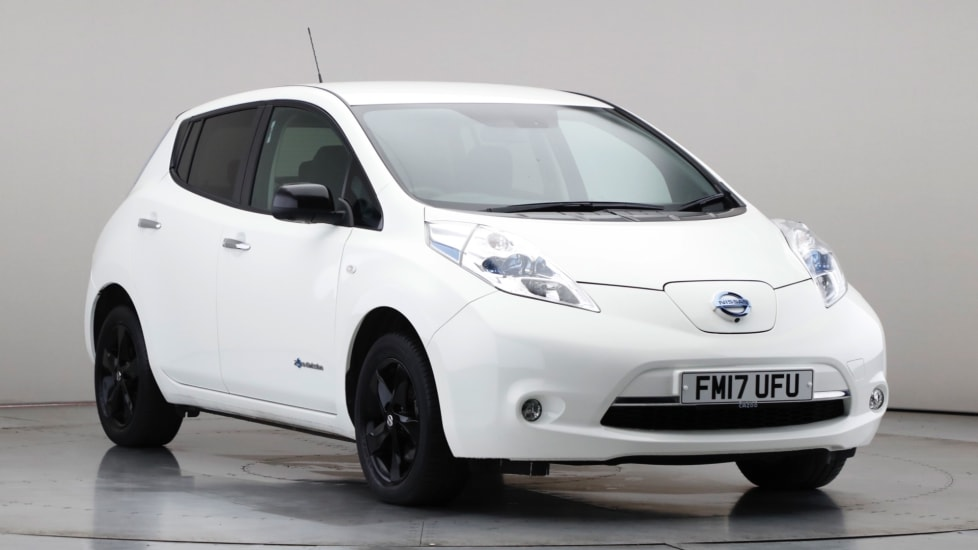 2017 Used Nissan Leaf Black Edition (30kWh)