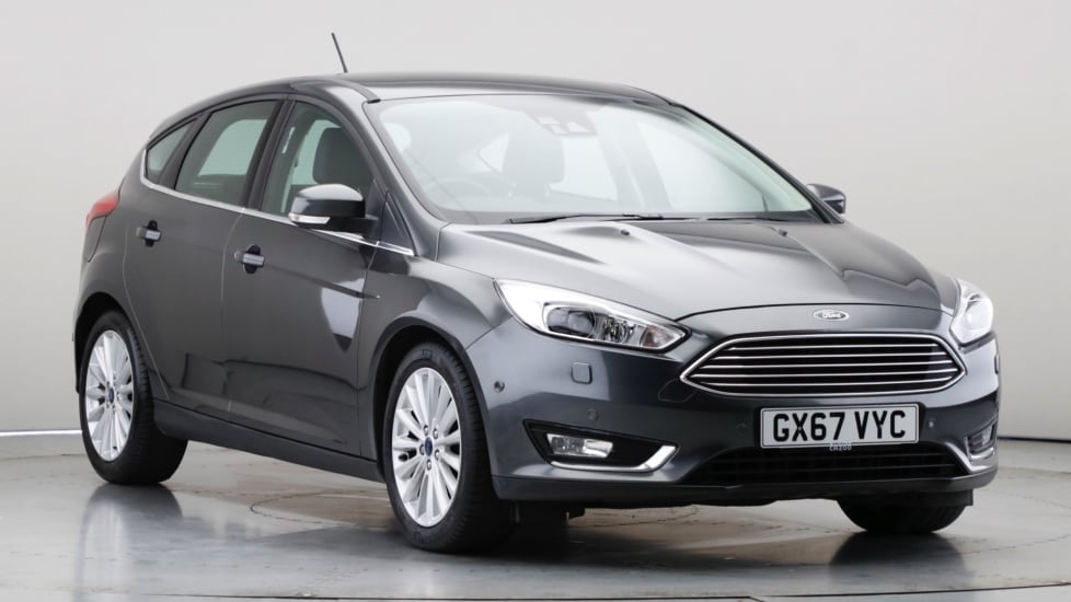 2017 Used Ford Focus 1L Titanium X EcoBoost T