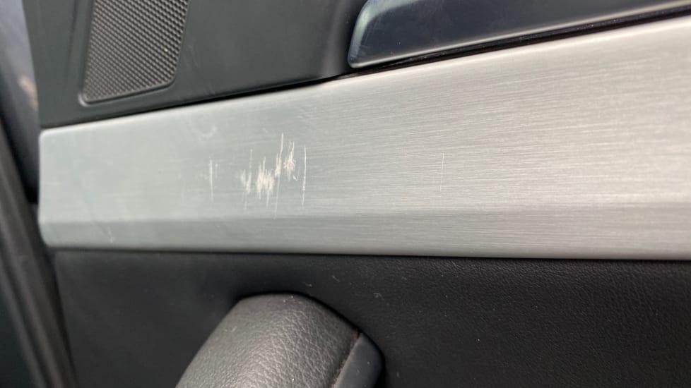 Drivers side rear passenger door trim