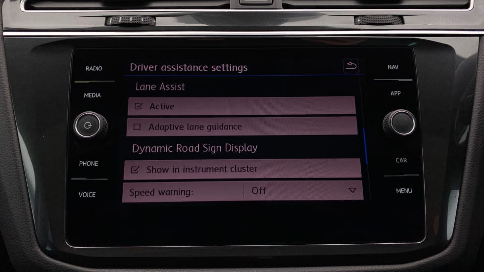 Lane departure warning