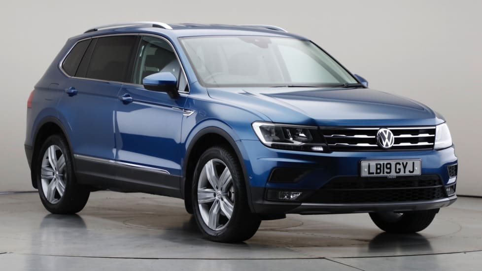 2019 Used Volkswagen Tiguan Allspace 1.5L Match TSI EVO