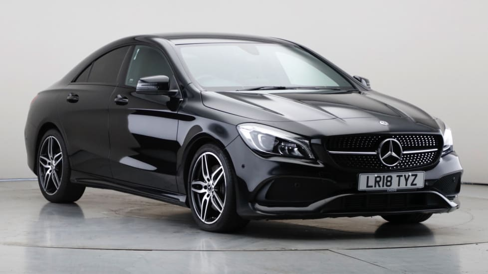 2018 Used Mercedes-Benz CLA Class 2.1L AMG Line CLA220d