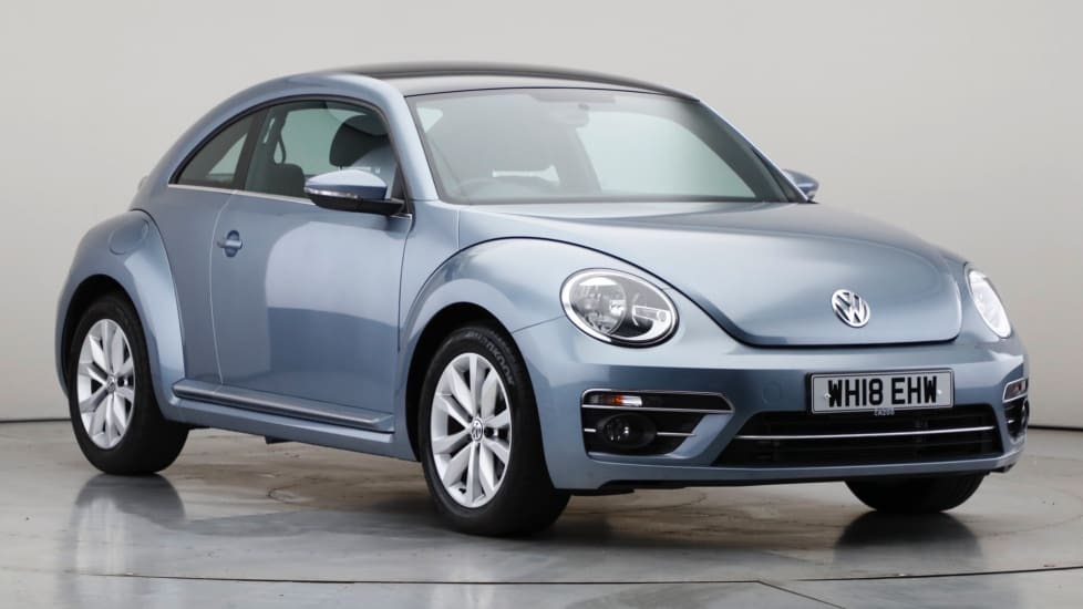 2018 Used Volkswagen Beetle 1.4L Design TSI