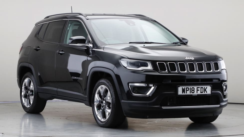 2018 Used Jeep Compass 1.6L Limited MultiJetII