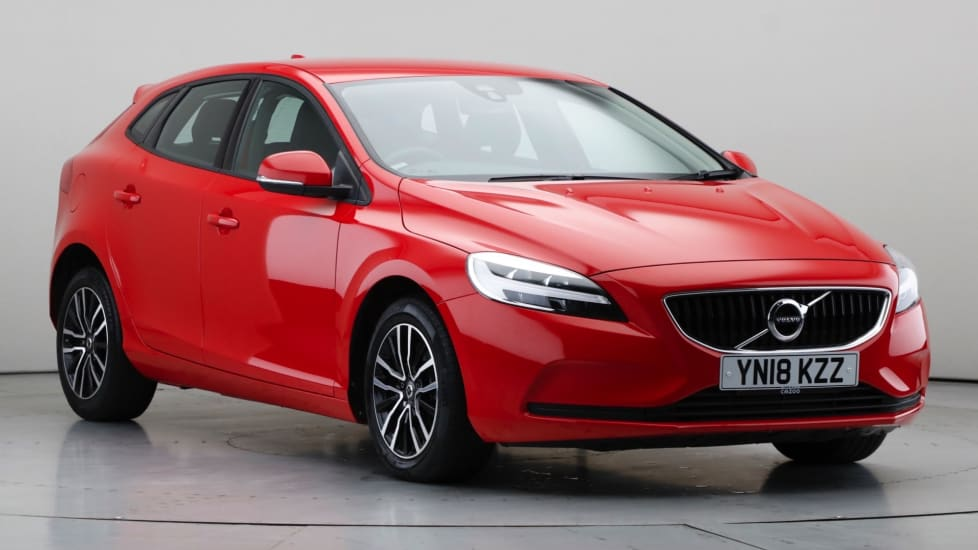 2018 Used Volvo V40 2L Momentum Nav Plus D4