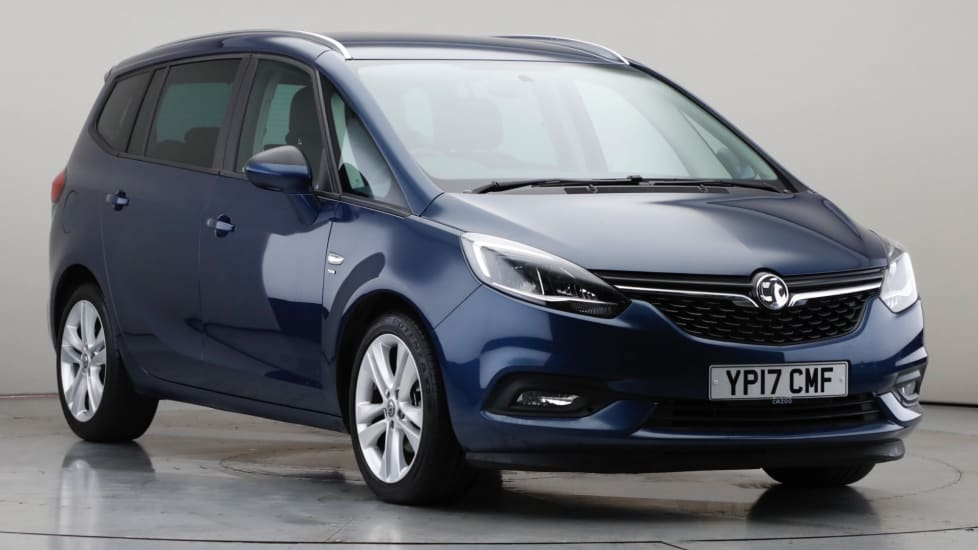 2017 Used Vauxhall Zafira Tourer 1.4L SRi Nav i Turbo