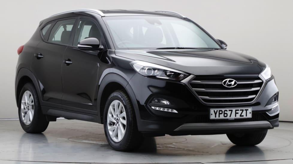 2017 Used Hyundai Tucson 1.6L SE Nav Blue Drive GDi