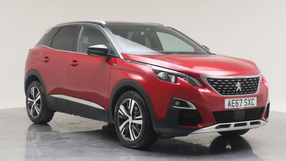 2017 Used Peugeot 3008 1.6L GT Line THP