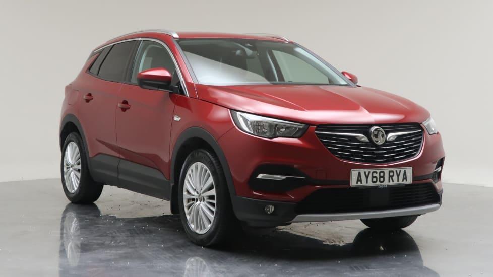 2018 Used Vauxhall Grandland X 1.5L Tech Line Nav BlueInjection Turbo D