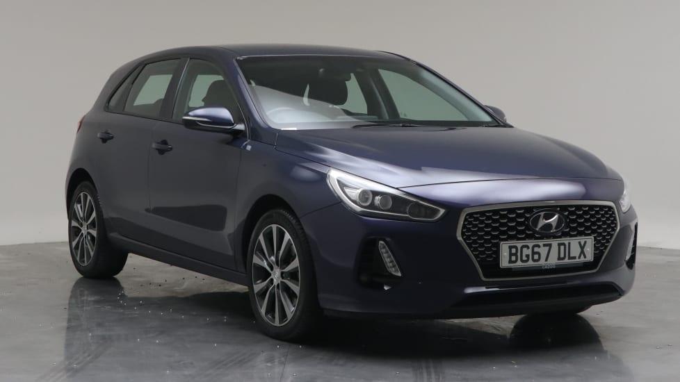 2017 Used Hyundai i30 1.6L SE Nav Blue Drive CRDi